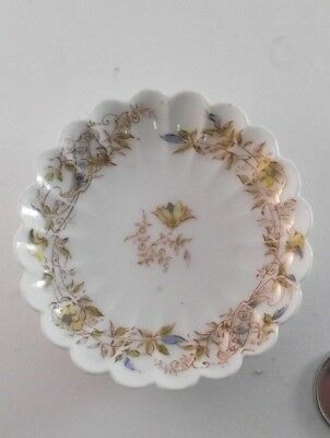 Antique Butter Pat H&C Limoges France  Haviland And Co