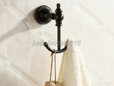 Bathroom Wall Mounted Towel Coat Robe Hooks Holder Hat Clothes Hanger lba826