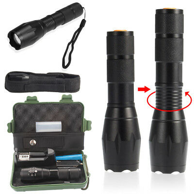 US 8000lm Genuine Shadowhawk X800 Tactical Flashlight LED Military G700 Torch