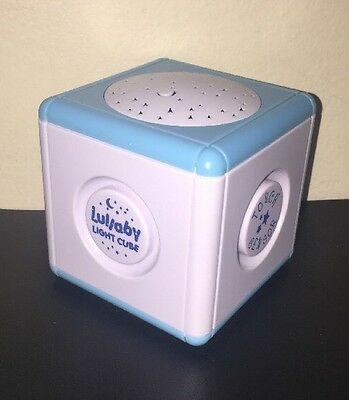 Baby Soother • Lullaby Light Cube Portable Musical Star Show Night Light