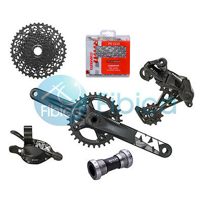 New 2017 SRAM NX 1x11-speed Groupset Group set 30t/32t 170mm/175mm
