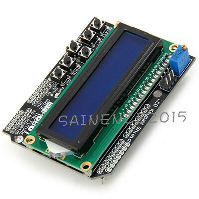 1.4inch LCD1602 Keypad Shield V1.0&Contrast Adjustment&Backlight for Arduino