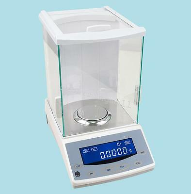 120x0.0001g Digital Analytical Balance Precision Electronic Scale lab Equipment