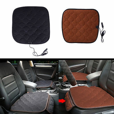 Car Carbon Fiber Electric Fast Heating Seat Cushion Car Office Chairs Warmer