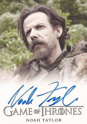 "Game of Thrones Season 4 - Noah Taylor ""Locke"" Autograph Card"