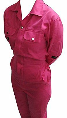 Pink Boiler Suit Pink Coveralls Pink Overalls Size 10 Small