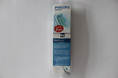 Philips Sonicare ProResults Standard Toothbrush Heads - 4 Heads