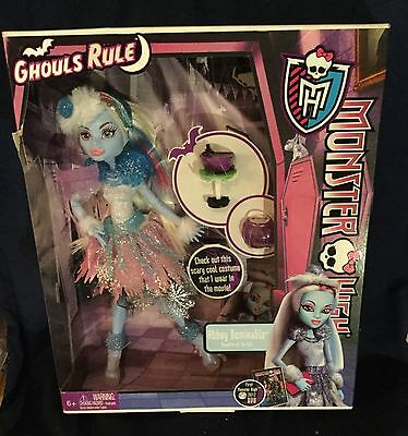 Monster High - Ghouls Rule - Abbey Bominable