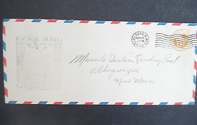 1940 Carlsbad New Mexico First Flight Cover
