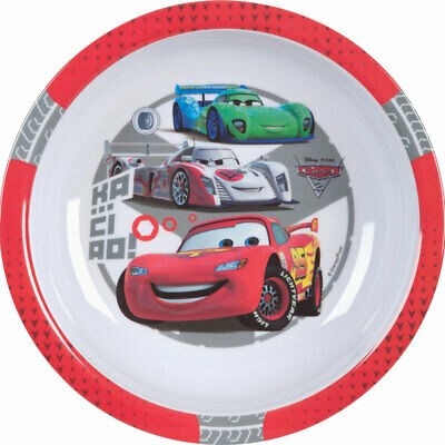 64215 Disney Cars - Suppenteller Tiefe Teller  Melamin 19,5 cm