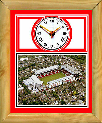 Football Clock Arsenal The Gunners Highbury Stadium Aerial