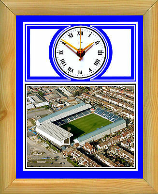 Football Clock Portsmouth Pompey Fratton Park Aerial