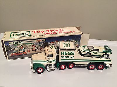 1991 HESS TOY TRUCK AND RACER in Box w/ Free Shipping!!!