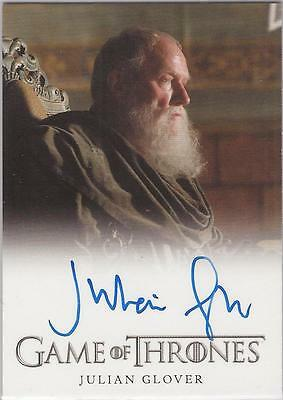 "Game of Thrones Season 1 - Julian Glover ""Maester Pycelle"" Autograph Card"