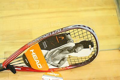HEAD Racquetball Racquet SCORPION 170g RED Color