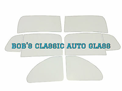 1951 1952 1953 1954 Kaiser Henry J 2 Door Windows Classic Auto Glass Vintage New