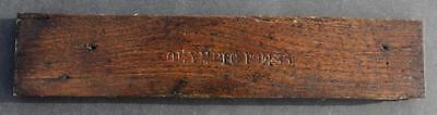 White Star Line Rms Olympic Reclaimed Wood Decking From Haltwhistle 1911/1935