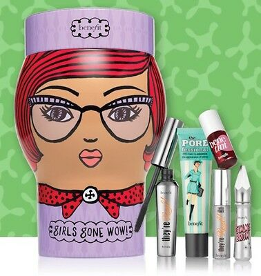 ��Benefit Girls Gone WOW Makeup Gift Set NEW & AUTHENTIC��