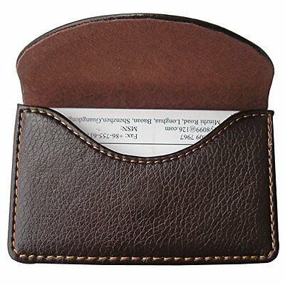 KINGFOMTM Leather Business Name Card Case Wallet Holder with Magnetic Shut