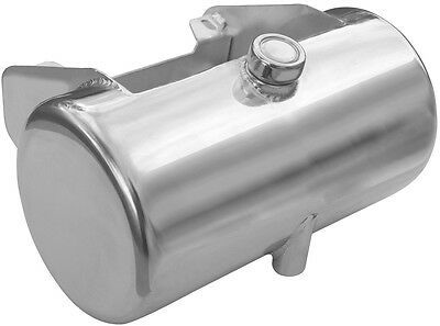 Chrome Plated 3.5 qt Center Fill Oil Tank for 1984-1999 Softail or Rigid Frames