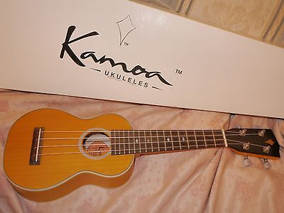 Kamoa Soprano Ukulele All Solid Wood Great Sound