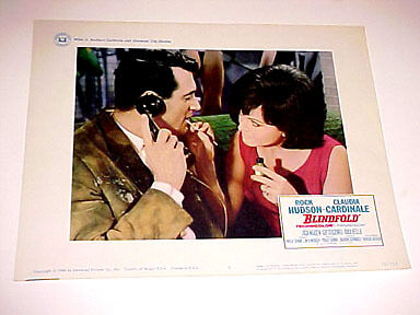 Blindfold-Rock Hudson-Claudia Cardinale-Lc Fn
