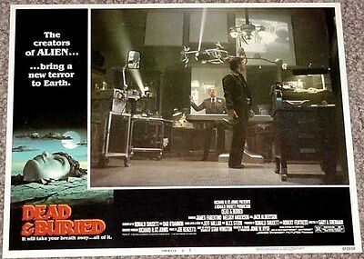 Dead & Buried Lobby Card #5-1981-Science Lab Vg