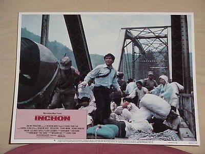Inchon-Lobby Card #6-1982-Bloody Disaster-Mgm/ua Vg