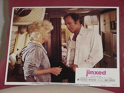 Jinxed-Lobby Card #4-Bette Midler-1982-United Artists Vg