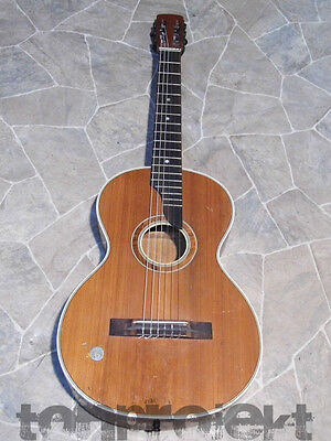 rare all solid ATLAS parlor GUITAR chitarra Gitarre guitare Germany 1930s