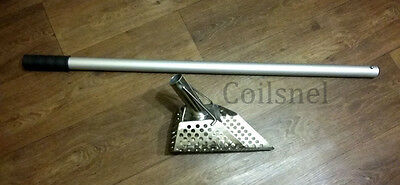 "Sand Scoop ""5-granik""+ALUM.HANDLE Metal Detector Tool from Stainless Steel"