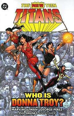 New Teen Titans (1980 series) Who is Donna Troy? TPB #1 in Near Mint - condition
