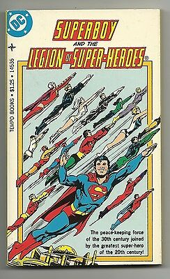 1977 DC Tempo Books Superboy and the Legion of Super-Heroes - VF 8.0