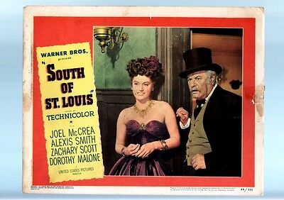 South Of St. Louis-Alexis Smith-1949-Lobby Card G/vg