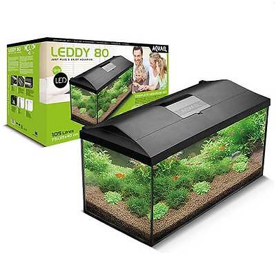 Aquael Leddy Large Tropical Aquarium Fish Tank Modern Lighting Freshwater Kit