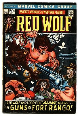 Red Wolf  #1 1972 marvel comic book first issue avengers