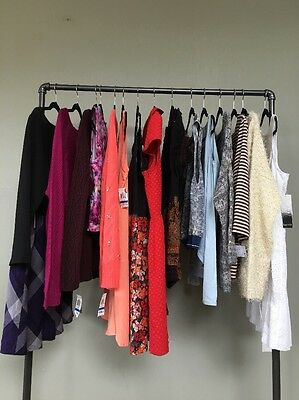 Womens Wholesale Lot DESIGNER Clothing Sweaters Dresses Tops Sz XL NWT $1,246+