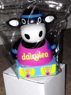 *brand New* Dairylea Racer Cow, Mooing Moo-Sical - Pink Roller Cow