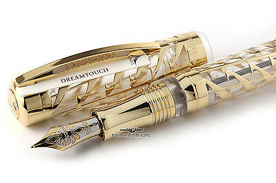 Visconti Watermark 925 Gold Plated Limited Edition Fountain Pen - #00/38!!!