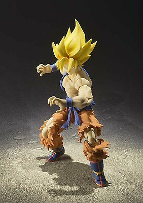 Bandai Tamashii Nations- Sh Figuarts - Super Saiyan Goku - 100% Authentic 96740