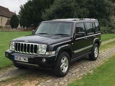 2006 Jeep Commander 3.0 CRD V6 Limited Station Wagon 5dr Diesel Automatic