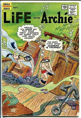 Life With Archie #16 1962-MLJ-Betty-Veronica-skin diving issue-G/VG