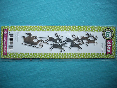Impression Obsession *Santa* Christmas Die - Compatible with Cuttlebug & Sizzix