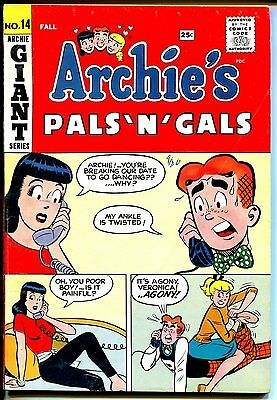 Archie's Pals 'n' Gals #14 1960-Betty-Veronica-Jughead-Reggie-Giant issue-FN