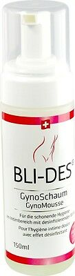 150 ml BLI-DES GynoSchaum - pour hygiénique Intimate care, Mousse de lavage