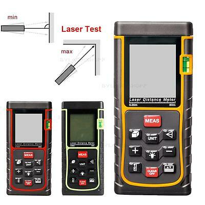40 60 80M Digital Laser Distance Meter Test Range Finder Measure Diastimeter