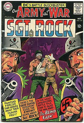 Our Army At War #159 1965-D.c. War Silver-Age-Sgt. Rock- Vg/fn