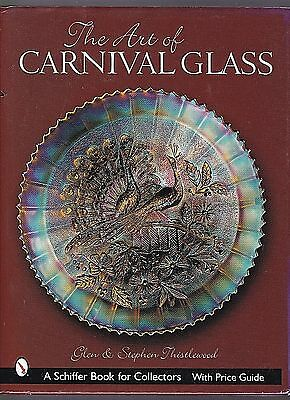 The Art of Carnival Glass 665 Color Photos A Schiffer Book Hard Cover NICE BOOK