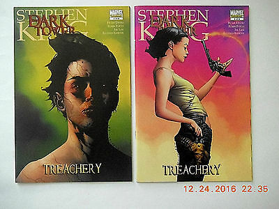 Marvel Stephen King The Dark Tower Treachery #1-2 Comic Book Set! New!