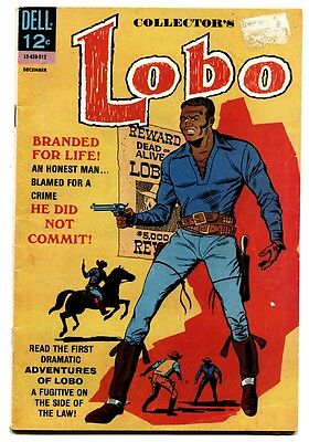 Lobo #1-First Black Title Character-Historic-Dell Western 1965
